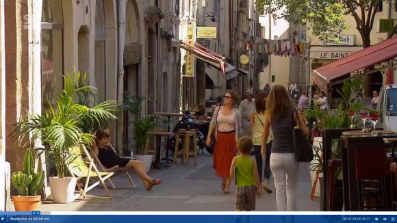 """""""Montpellier, da will ich hin"""" dans les rues de l'Ecusson"""