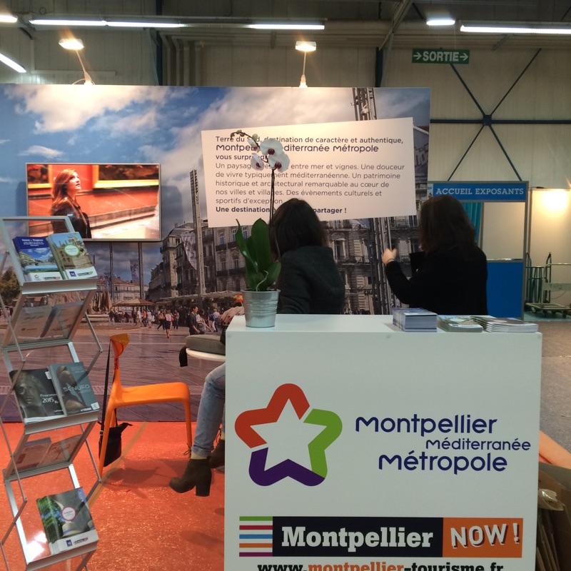 Stand Office de Tourisme et des Congrès Montpellier Méditerranée