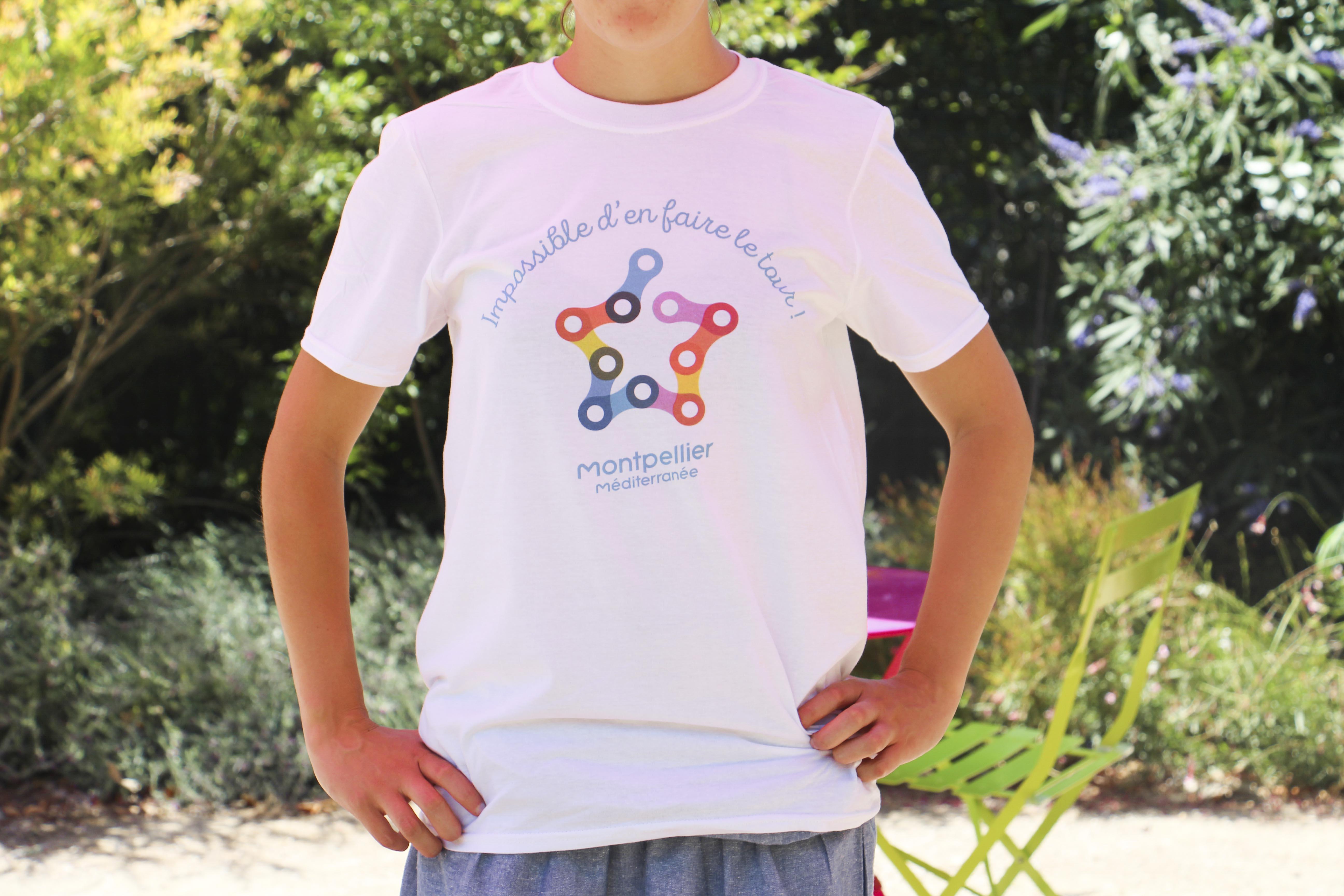 Spécial Tour de France, des nouveaux t-shirts à l'OTC3M !