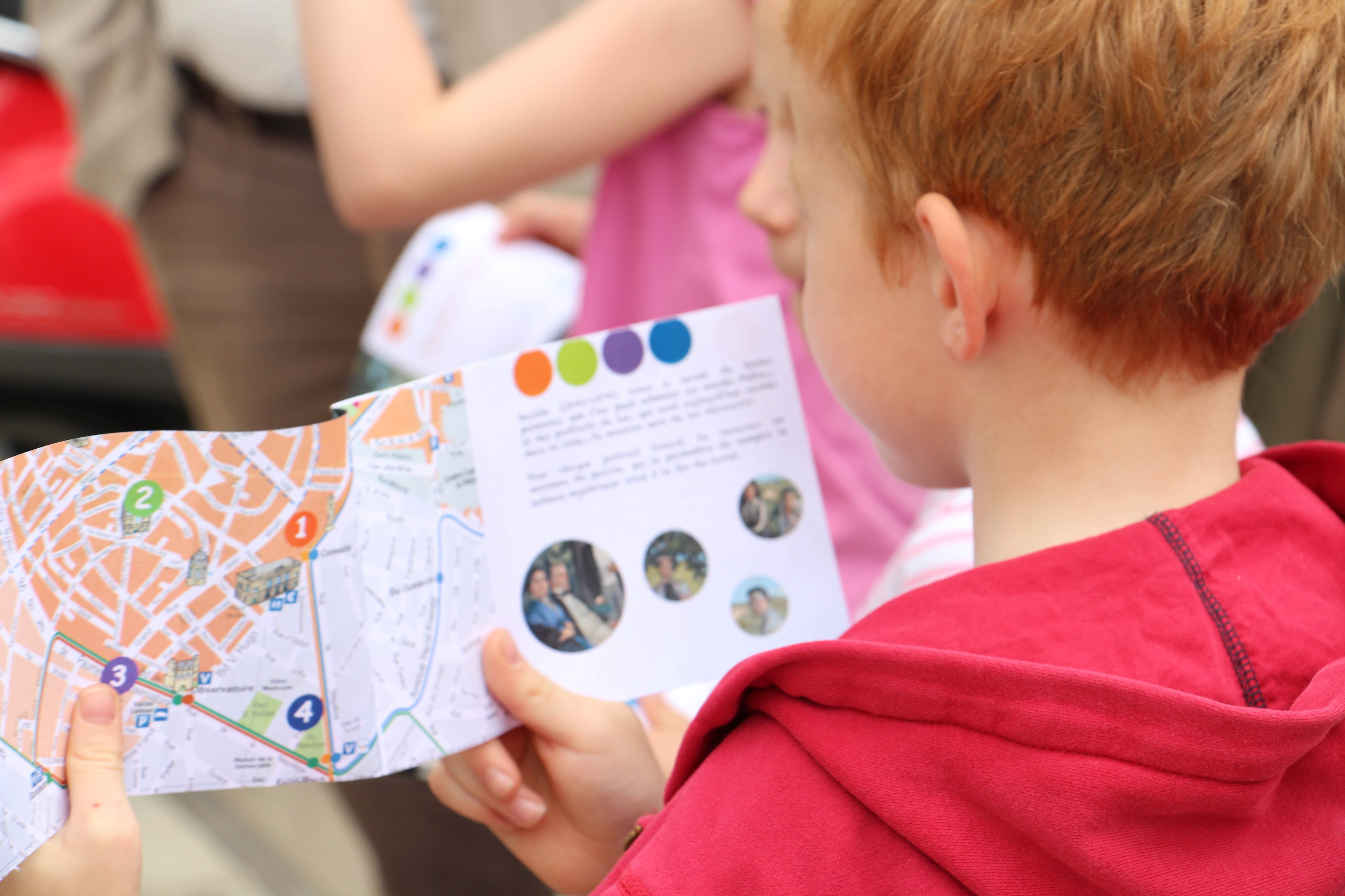 Visite guidee Bazille à destination des enfants - Montpellier