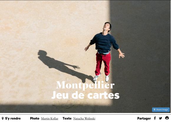 Montpellier Jeu de Cartes - Air France Magazine
